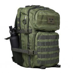 Nordic Army Assault Backpack Net pocket Green - 28L