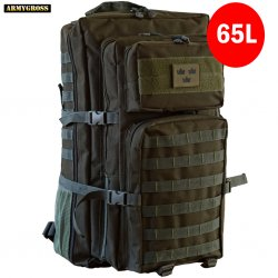Nordic Army Assault Backpack 65L - Green