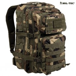 Mil Tec Assault 50L PACK 50L woodland camo