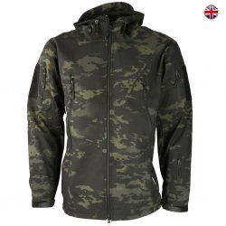 Brittisk Multi-Terrain Softshell Jacket - Black