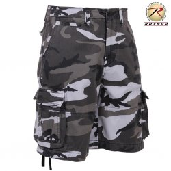 Rothco Vintage Infantry Utility Shorts - City Camo