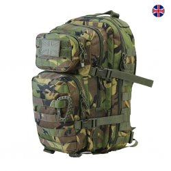 Brittisk Assault Back Pack 28L - DMP Camo