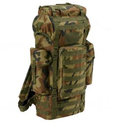 Brandit Combat Backpack MOLLE - Woodland Camo