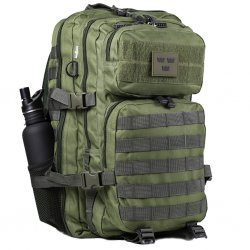 Army Gross Assault Ryggsekk 50L Net Pocket - OD