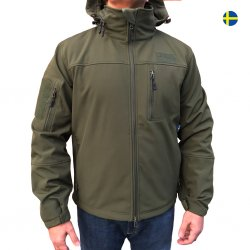 Nordic Army Softshell Jacket - Green