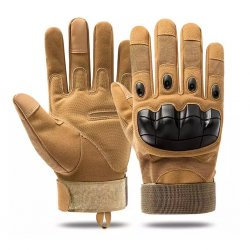 Tactical Outdoor Touch Screen Gloves - Sand
