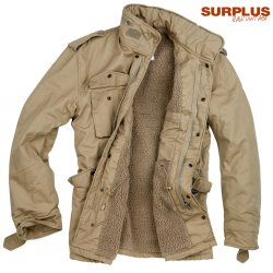 Surplus Raw Paratrooper Lumberjacket - Beige