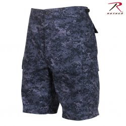 Rothco BDU Shorts - Midnight Digital Camo