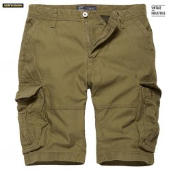 Rowing Shorts - Olive - Vintage Industries
