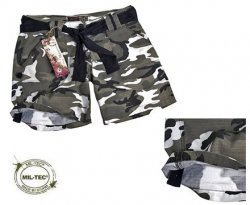 ARMY SHORTS DAM CITY CAMO