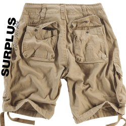 Surplus RAW Vintage Airborne Shorts - Beige