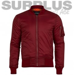 Surplus Raw Bomber Jakke - Bordeaux