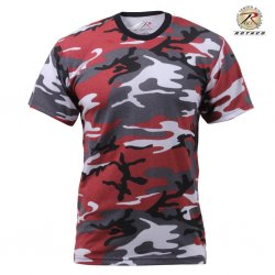 Rothco T Shirt - Red Camo