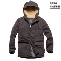 Skinner Parka - Vintage Industries - Black