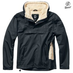 Brandit Windbreaker Sherpa - Black