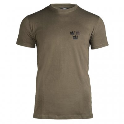 3 Crown T Shirts - Olive
