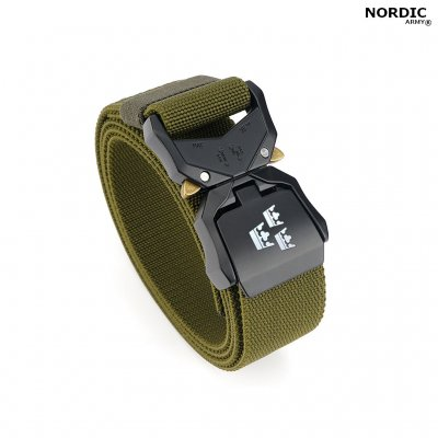 Nordic Army® Tactical Stretch Belt 3 Crown - OD