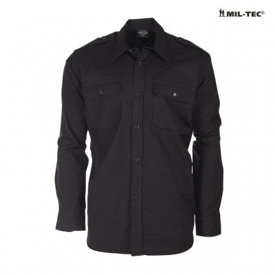 Mil Tec Field Shirt - Black
