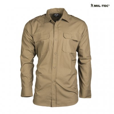 Mil Tec Field Shirt - Coyote Brown