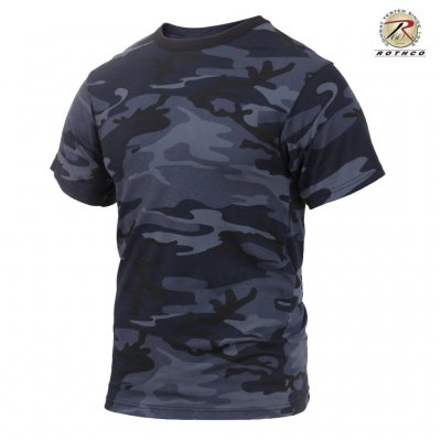 Rothco T Shirt - Midnight Blue Camo