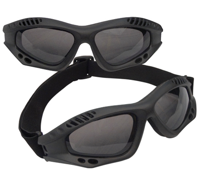 BLACK TACTICAL GOGGLES
