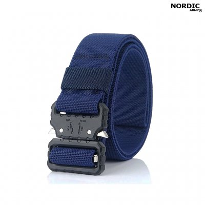 Nordic Army Tactical Belt Stretch- Nav Blue