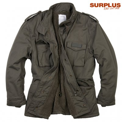 Surplus raw vintage Paratrooper jacka