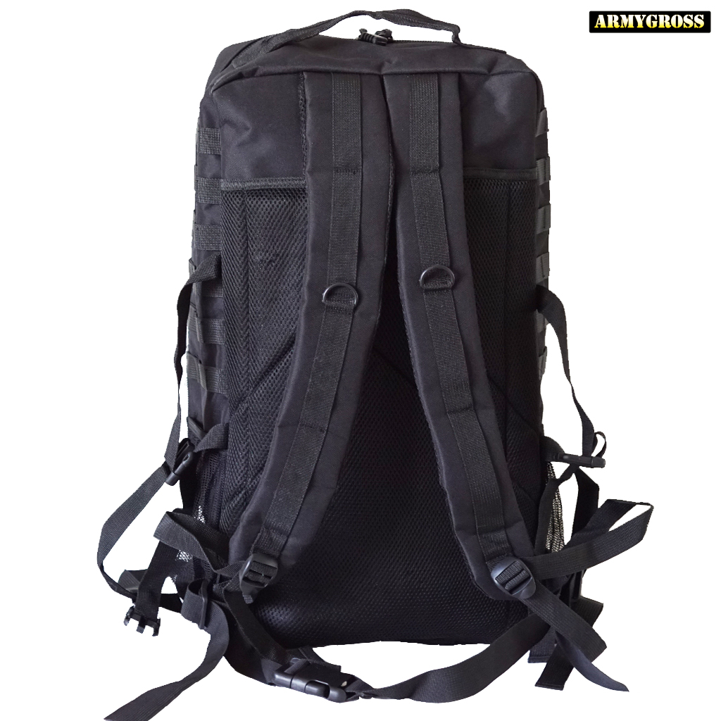 Nordic Army Assault Backpack 65L - Black - Swedish Army Bags ... 3a49a285935b7