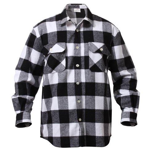 Original US Flanellskjorta BrunSort Flanell Skjorter