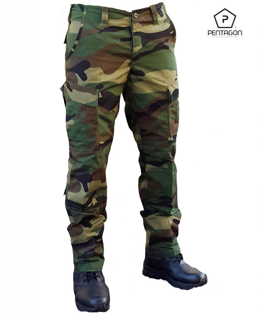 Pentagon Army Pants ACU model Woodland Camo - Fieldtrousers ... dec255e68376c